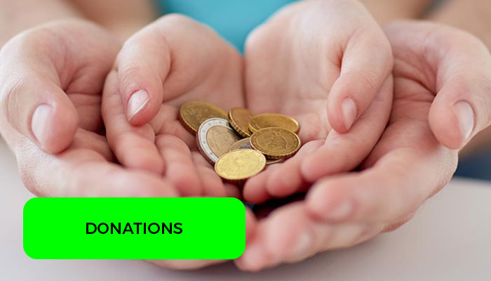 Simple things make donations live
