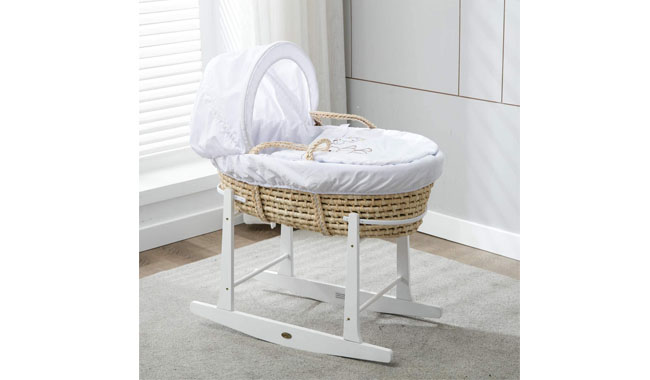 MCC Natural Palm Moses Basket