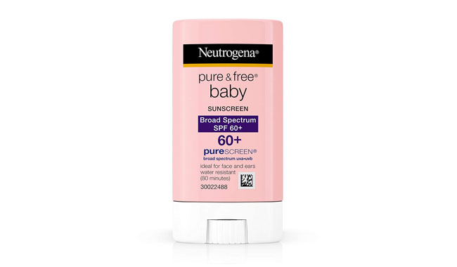 Neutrogena Pure and Free Baby Mineral Sunscreen Stick