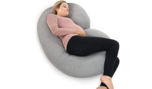 Pharmedoc Full Body C Shape Pregnancy Pillow