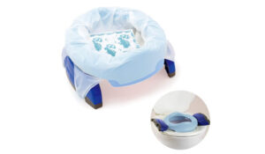 Potette Plus 2-in-1 Compact Travel Potty & Toilet Training Seat