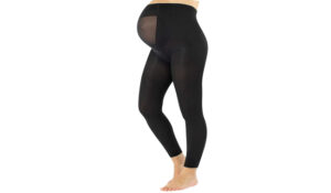 CALZITALY Footless Maternity Tights