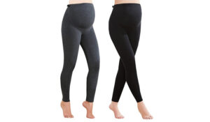 Foucome Women's Over Bump Maternity Leggings