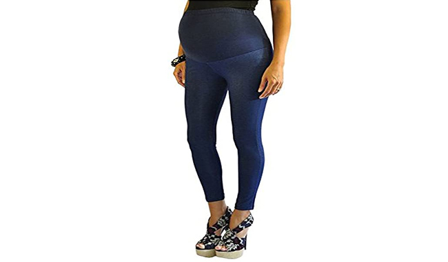 FuturaLondon Full Ankle Maternity Jeggings
