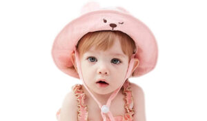 GZMM Baby Girl Cotton Sun hat