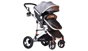TomiKid 3-in-1 Grey Travel System