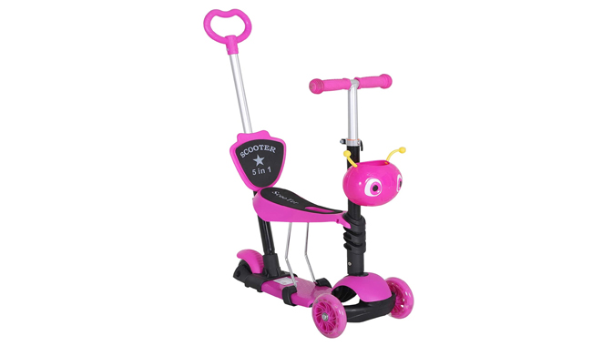 Homcom 5-in-1 Kids Scooter