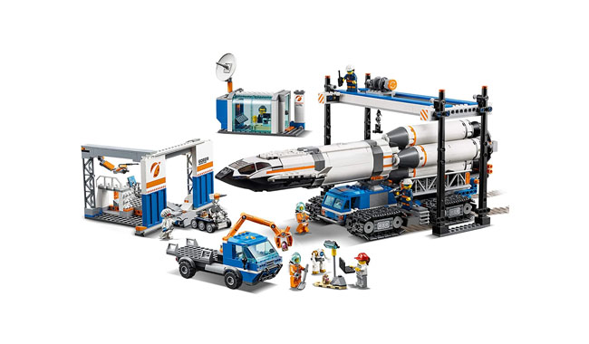 LEGO 60229 City Rocket Assembly and Transport Space Port Toy