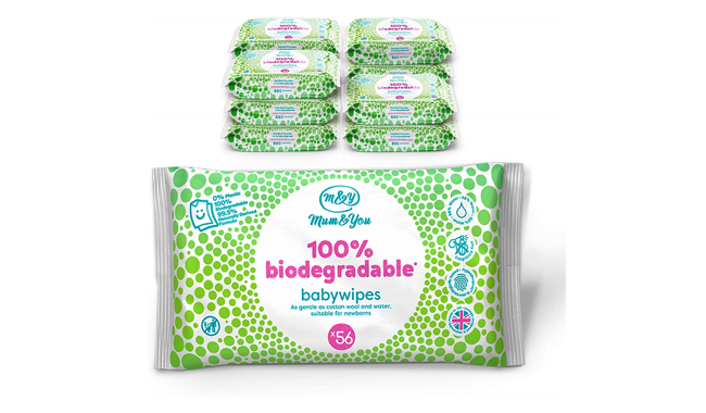 Mum & You 100% Biodegradable Baby Wipes