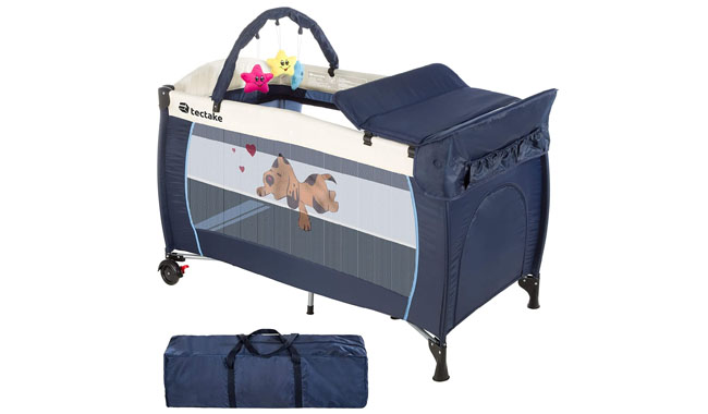 TecTake Travel Cot