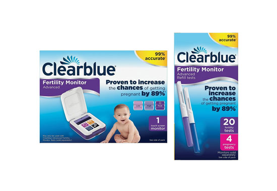 Clearblue Advanced Fertility Monitor 550x380