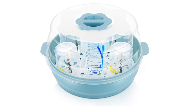GOLOHO Baby Bottle Microwave Steam Steriliser