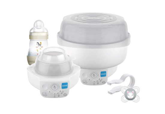 MAM STE0202 Electric Baby Bottle Steriliser 550x380