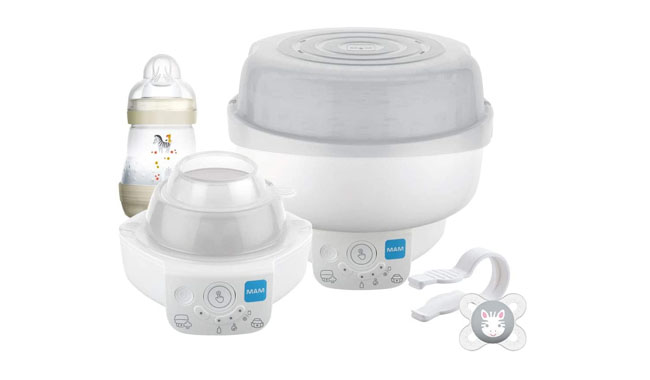 MAM STE0202 Electric Baby Bottle Steriliser