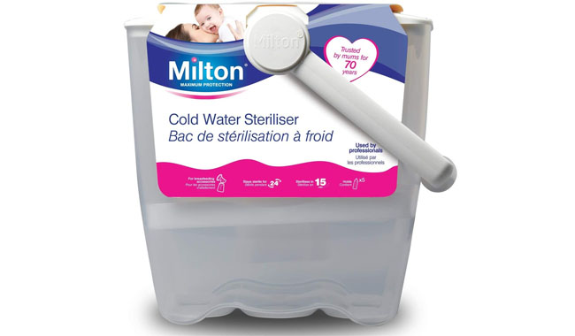 Milton Cold Water White Steriliser