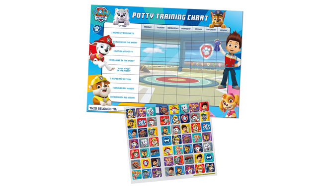 Paper Projects 01.70.30.025 Paw Patrol Chart