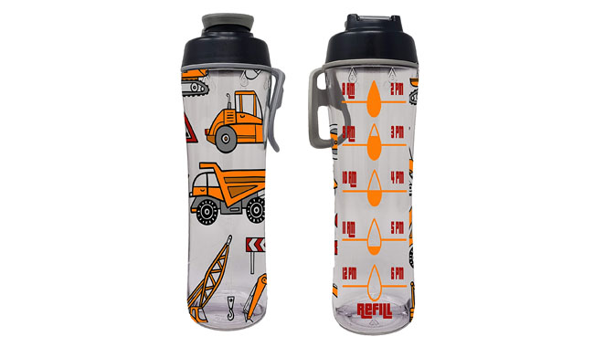 50 Strong Water Bottle for Kids