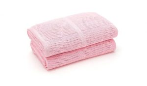 Bloomsbury Mill Cellular Baby Blankets