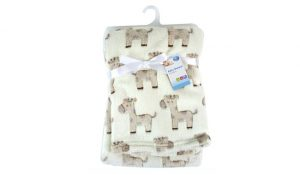 First Steps Luxury Soft Fleece Baby Blanket