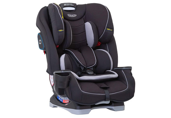 Graco Slimfit All-in-One Car Seat 550x380