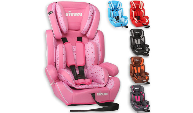 KIDUKU® Safety 1-2-3 Car Seat