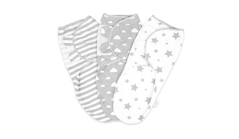 Little Seed 100% Organic Cotton Swaddles 484x283