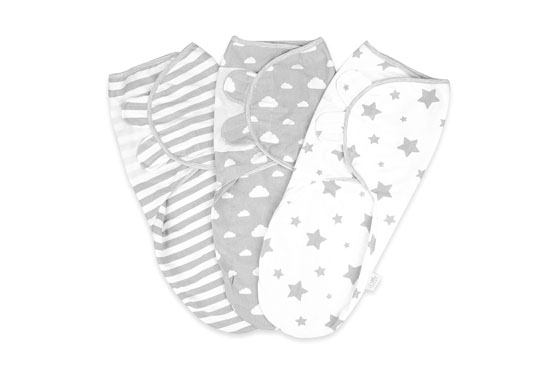 Little Seed 100% Organic Cotton Swaddles 550x380