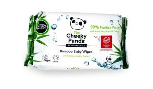 The Cheeky Panda Biodegradable Plastic-Free Baby Wipes