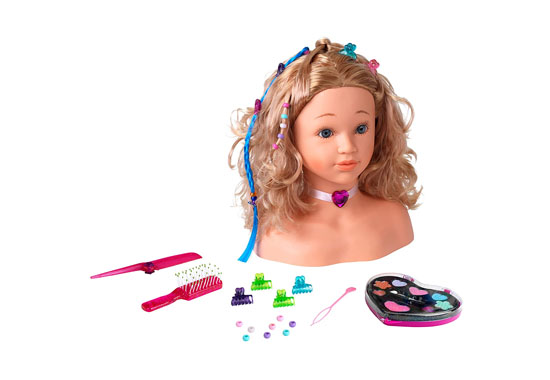 Theo Klein Princess Coralie Make-Up and Hairdressing Head 550x380