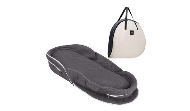 Bebamour Grey Portable Baby Nest Pod