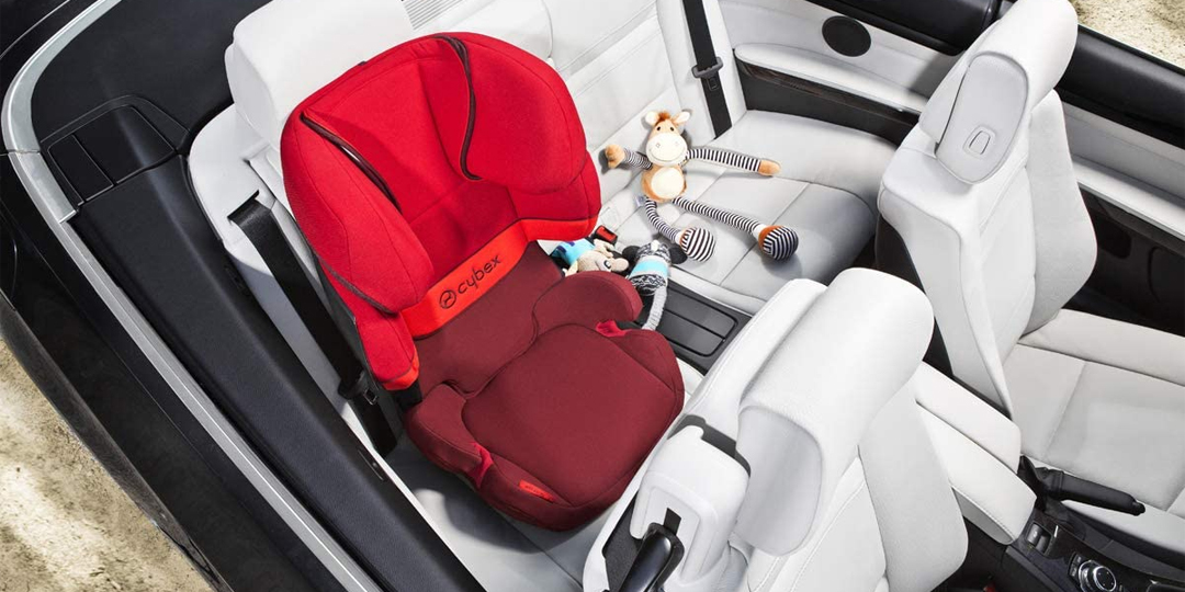 Best Car Seat from 4 Years Banner Image