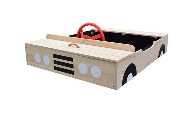 Big Game Hunters Car Wooden Sandpit