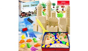Dino Sand Kit with Foldable Sand Box
