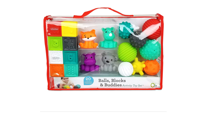 Infantino Block Balls Activity Toy