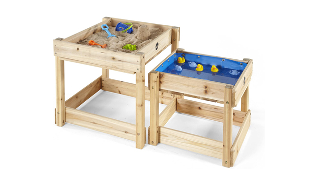 Plum Sandy Bay Wooden Sandpit and Water Tables