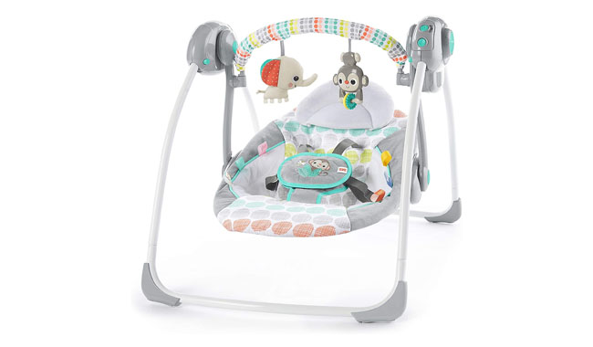 Bright Starts Whimsical Wild Portable Swing