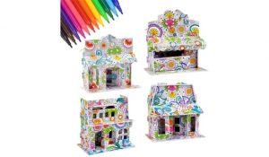 Dream Fun 3D Coloring Puzzle Set for Kids