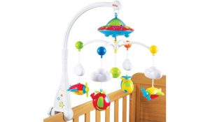 Nuby Musical Cot Mobile with Starlight Projection