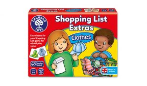 Orchard Toys Shopping List Extras Clothes Game Pack