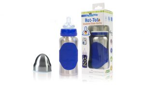 Pacific Baby Hot-Tot Stainless Steel Insulated Baby Bottle