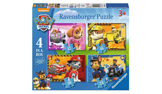 Ravensburger Paw Patrol 4 in a Box