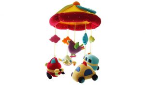 SHILOH Baby Crib Mobile with Musical Box & Holder