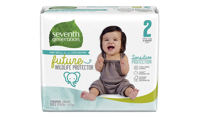 Seventh Generation Sensitive Protection Baby Diapers