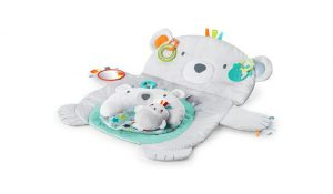 Bright Starts Tummy Time Prop and Play Toy Set