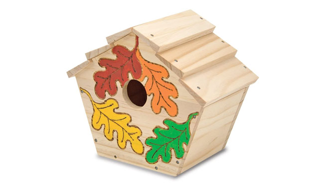 Melissa & Doug Build-Your-Own Wooden Toy Birdhouse
