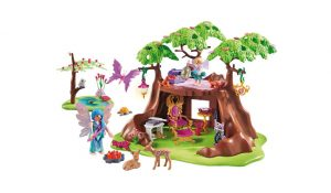 Playmobil 70001 Fairy Forest House with 7 Animals