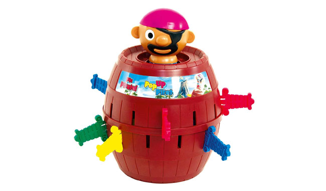 TOMY Games T7208 Pop Up Pirate