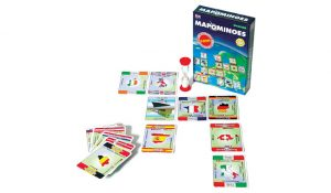 Wild Card Games MAPOMINOES EUROPE Ultimate Geography Game