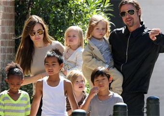 Brad Pitt Children and Family