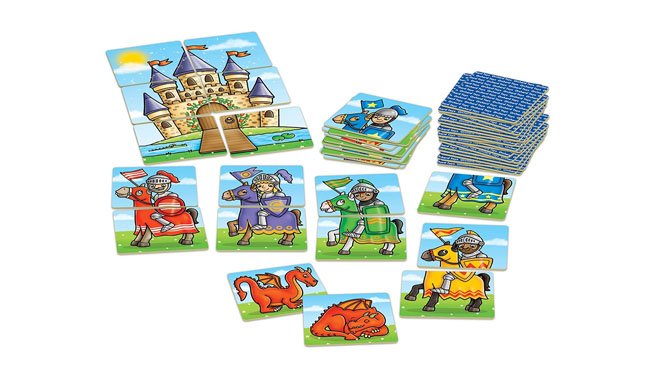 Orchard Toys Knights and Dragons Game